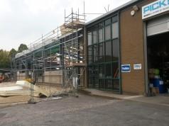 New Gloucester Depot takes shape