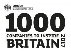 1000 Companies to Inspire Britain 2017